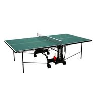 Складной теннисный стол - DONIC INDOOR ROLLER 600 GREEN, фото 1