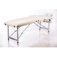 Массажный стол складной RESTPRO ALU 2 (S) Cream, фото 1