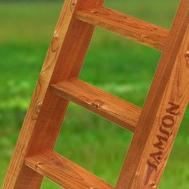 Лестница с деревянными ступенями САМСОН, фото 1