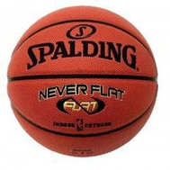 SPALDING NBA GOLD NEVER FLAT, фото 1
