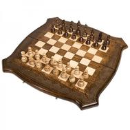 Шахматы + Нарды резные Лоза 50, Ohanyan, фото 1