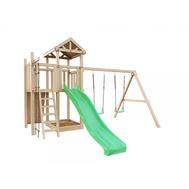 Детская деревянная площадка - IGRAGRAD DIY БОЛЬШАЯ ПАНДА ФАНИ + СКАЛОДРОМ, фото 1
