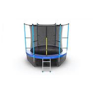 Батут EVO JUMP INTERNAL 8 FT BLUE + LOWER NET, фото 1