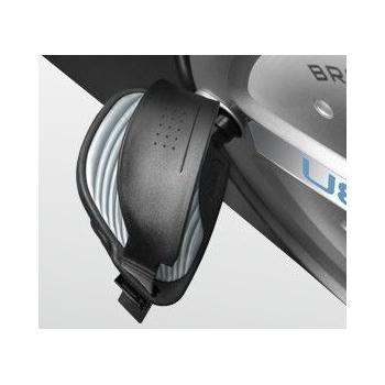 Горизонтальный электромагнитный велотренажёр BRONZE GYM R801 LC, фото 12